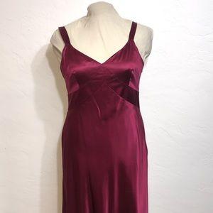 ANN TAYLOR 12 SILK / RAYON Sleeveless Dress
